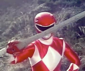 The Red Rangers Sword From Power Rangers Has Been Revealed