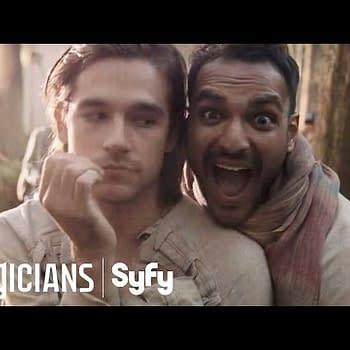 Be Careful Of Strangers We Only Look Whimsical &#8211 Behind The Season Of The Magicians Season 2
