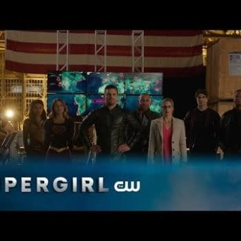 Melissa Benoist Talks About Flying In Front Of The Other Heroes