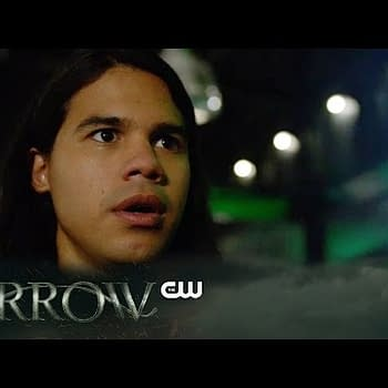 Cisco Ramon Vibes Onto An Alien Ship To Find Oliver Queen