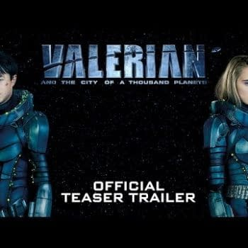 Valerian And The City Of A Thousand Planets Debuts First Footage In Trailer