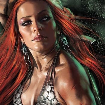 Exclusive Extended Previews For Evil Ernie: Godeater #4 Art Of Red Sonja And Xena: Warrior Princess &#8211 All Roads