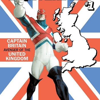 Now Captain Britain Gets a U.S.Avengers State Variant Cover