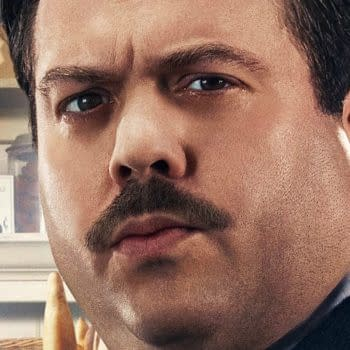 Photo of Dan Fogler as Jacob Kowalski from Warner Bros.' Fantastic Beasts and Where to Find Them