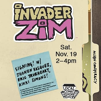 Things To Do In L.A. This Weekend If You Like Comics And Invader Zim