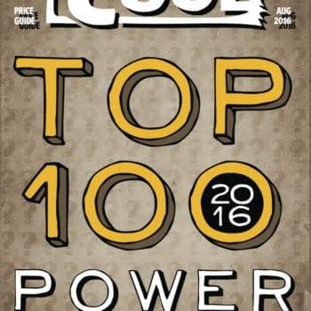 The Bleeding Cool Top 100 Power List 2016 Countdown #96-100