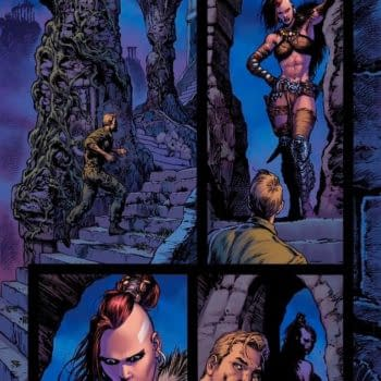Liam Sharp's Favorite Page From Wonder Woman #11