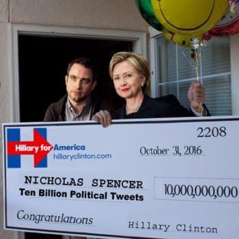 A Day In The Life Of Nick Spencer's Post-Hillary Twitter Account