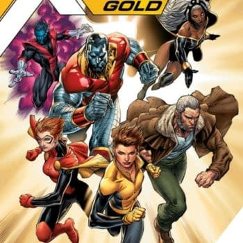 The All-Old, All-Similar X-Men, Now Available In Blue And Gold…
