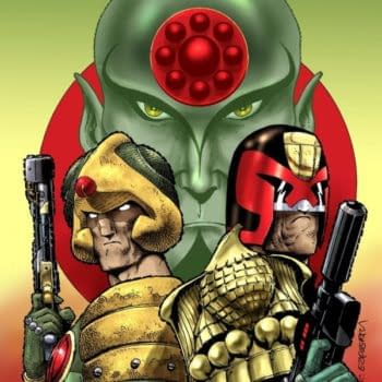 In Shocking Betrayal, 2000 AD Gives CBR EXCLUSIVE 40th Anniversary Judge Dredd Cover