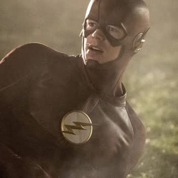 Flash Photos From 4-Show Crossover Shows Getting The Band Together – Spoilers
