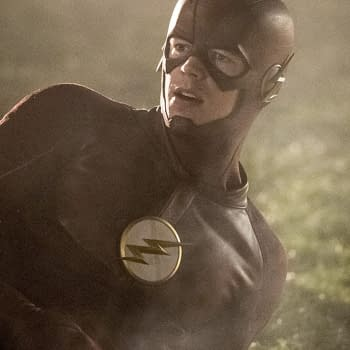 Flash Photos From 4-Show Crossover Shows Getting The Band Together &#8211 Spoilers