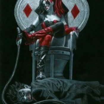 Watch The Legendary Greg Hildebrandt Get Creative With Harley Quinn In NYC On November 19
