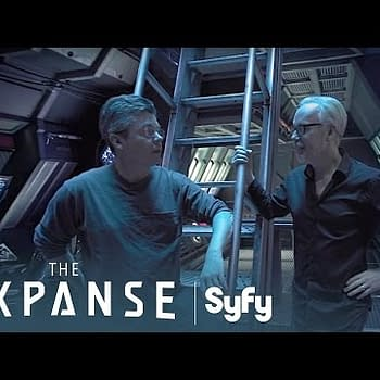 Adam Savage Explores The Rocinante From The Expanse