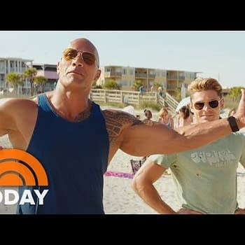The Rock And Zac Efron Go For Laughs In Baywatch Trailer