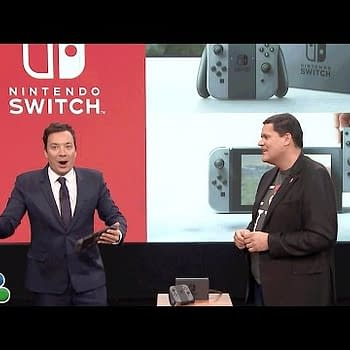 Jimmy Fallon Shows Off Mario Run And The Nintendo Switch Playing Zelda: Breath Of The Wild