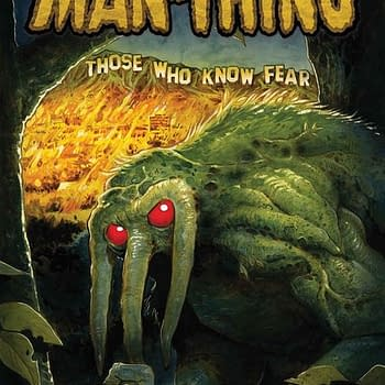 R. L. Stine Talks About His Man-Thing