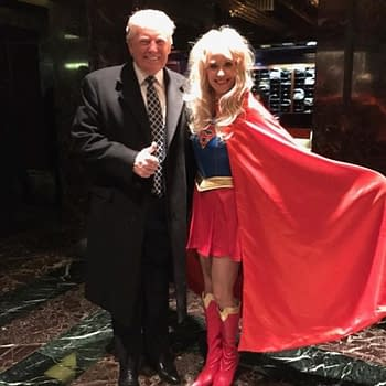 When Trumps Campaign Manager Cosplayed As Supergirl