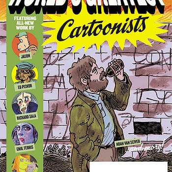 Noah Van Sciver Covers Fantagraphics Worlds Greatest Cartoonists For Free Comic Book Day