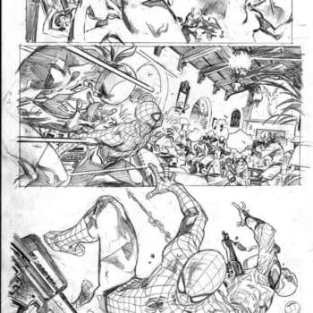 First Look At Pencils Prove Stuart Immonen Has Long Lead Time On Amazing Spider-Man