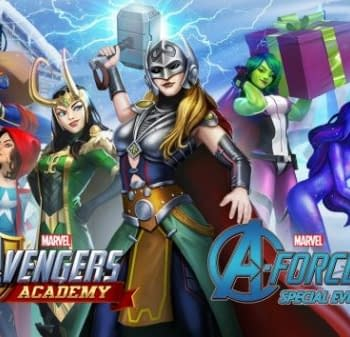 A-Force Brings Festive Cheer To Avengers Academy