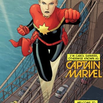 Margaret Stohl And Sana Amanat On The Mighty Captain Marvel