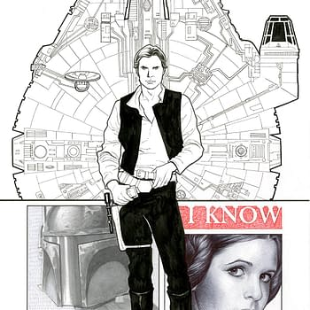 Heres The Han Solo Cover Frank Cho Drew After His Princess Leia Cover Was Rejected