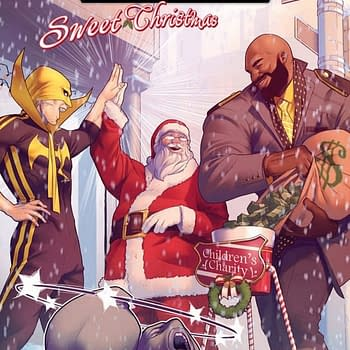A Marvellous Christmas Gift Power Man and Iron Fist Sweet Christmas