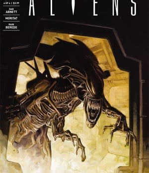 Exclusive Sneak Peek &#8211 Aliens: Life And Death #4