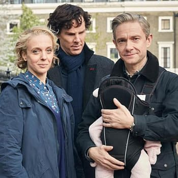 Freeman And Abbington Split As Sherlock Season 4 Is Set To Premiere
