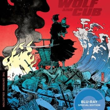 Paul Pope Covered Lone Wolf And Cub Criterion Blu-Ray Box Set Wandering To The UK