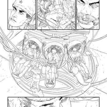 Superman And Wolverine Artist Renato Guedes' First Interiors For Valiant