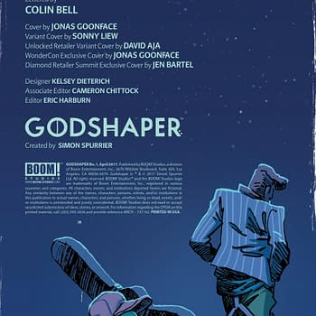 Godshaper By Si Spurrier And Jonas Goonface – The Shape Of Comics To Come?