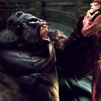 The Flash Effects &#8211 The Making Of Gorilla Grodd And King Shark