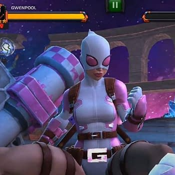 Gwenpool Enters Marvel Contest Of Champions&#8230 And Drags Cable In With Her