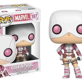 An image of the Masked Gwen Pool Funko Pop collectible figure.