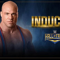 Its True Its True. Kurt Angle Enters The WWE Hall Of Fame