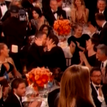 See: Deadpool Making Out With Spider-Man At Last Night's Golden Globes