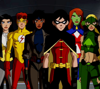 Could Young Justice LGBTQ Character Finally Be Coming Out