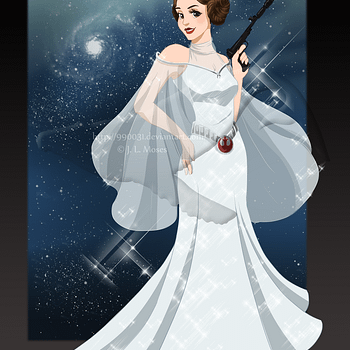 Honoring Royalty: Fans Petition Disney To Make Leia An Official Princess
