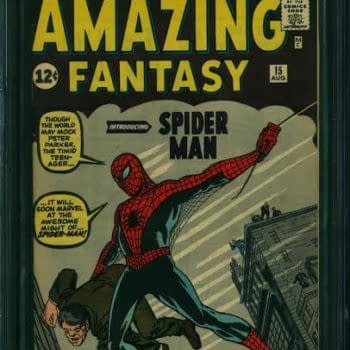 Amazing Fantasy #15 CGC 9.2, First Appearance of Spider-Man, Sells For Record $460,000 At Comic Link