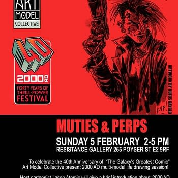Wanna Draw Cursed Earth/Mega-City One Folk Head To 2000ADs Muties &#038 Perps Life Drawing Session