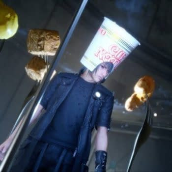 What FFXV's Cup Noodle Hat Says About Us