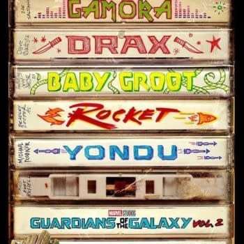 Brand New Guardians Of The Galaxy Vol. 2 Poster