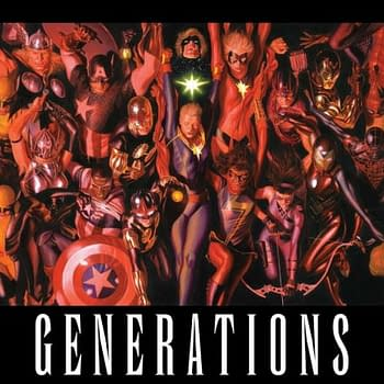 From Alex Ross And Marvel &#8211 All The Different Generations Together