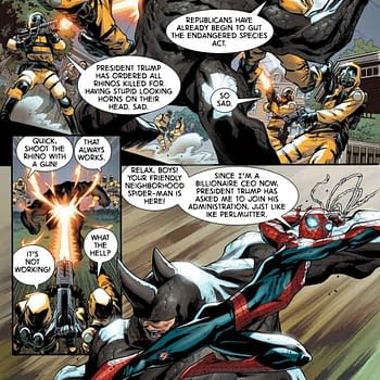 Improbable Previews: Spider-Man Battles Rhino Gets Creative In Clone Conspiracy Omega