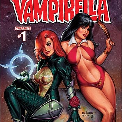 Free On Bleeding Cool &#8211 Dawn / Vampirella #1 By Joseph Michael Linsner