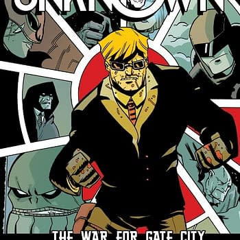 Exclusive &#8211 Doc Unknown Gets Hardcover Collection
