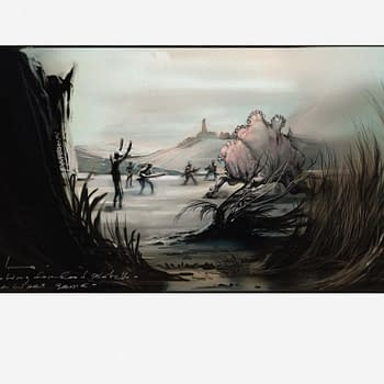 Could This Leaked Art From Carlos Huante Be From A Failed Star Wars Game?