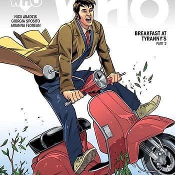 Licensed Comic Books And The Headaches They Cause At Gallifrey One 2017